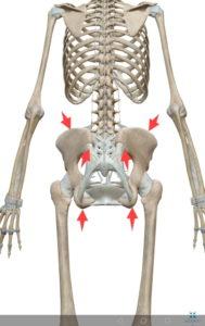 骨盤の歪みチェックポイント